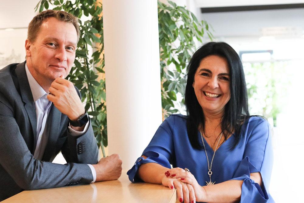 Jens Newerla und Sabine Schumann Projektmanagement